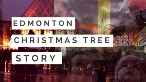 Edmonton Christmas Tree Story
