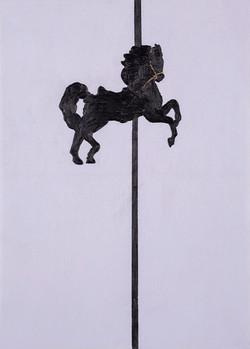 Black horse, 2010