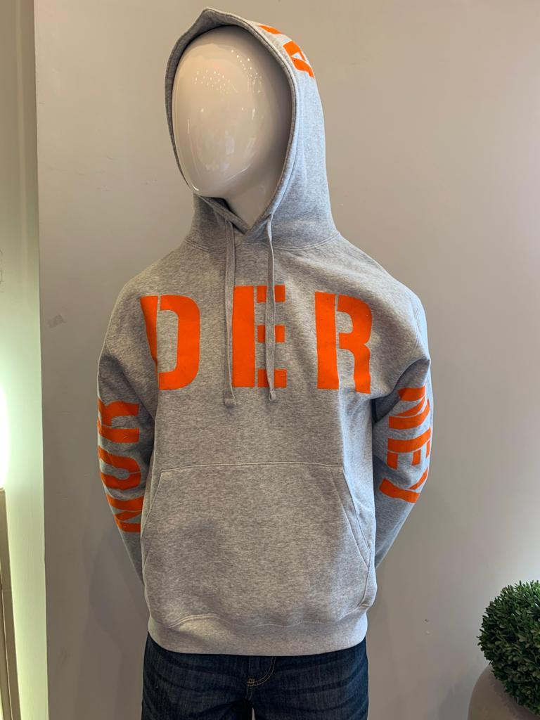 Hoody Norderney grau orange