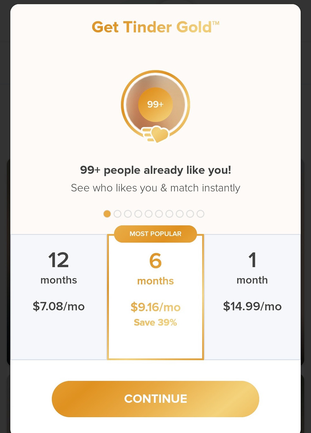 Tinder Gold features and pricing. In this article we cover Tinder gold features, Tinder free features, Tinder Plus features, discuss if Tinder Gold is worth it, what is Tinder verified, what is Tinder Super Like, what is Tinder boost and when to use it, how does the Tinder algorithm work, and what is the Tinder free like limit.