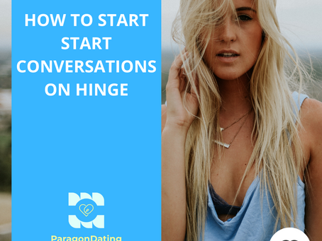 How to Start a Conversation on Hinge and Increase Your Dates