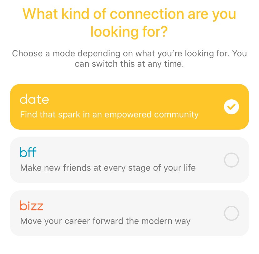 What is Bumble BFF and Bumble Bizz? Complete Bumble Feature Guide. Learn how to start a bumble conversation, how to make a good bumble profile, and find links to great bumble bio examples. We cover all bumble features, such as bumble superswipe, what is superswipe on bumble, how do I know who super swiped me on bumble, what is bumble spotlight, what is bumble video call, and how to send bumble ice breakers.