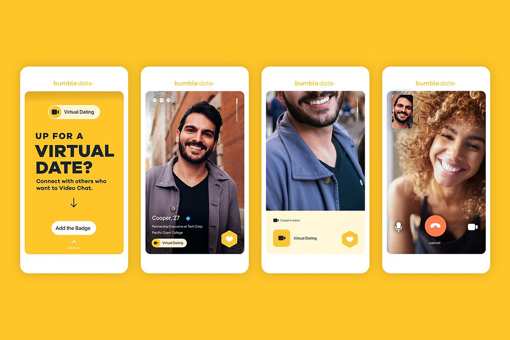 What is Bumble Virtual Date? Complete Bumble Feature Guide. Learn how to start a bumble conversation, how to make a good bumble profile, and find links to great bumble bio examples. We cover all bumble features, such as bumble superswipe, what is superswipe on bumble, how do I know who super swiped me on bumble, what is bumble spotlight, what is bumble video call, and how to send bumble ice breakers.