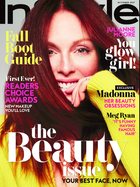 Julianne Moore on why it's a privilege to get older