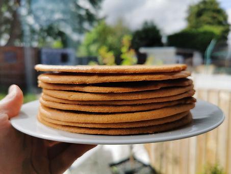 Honey cake layers