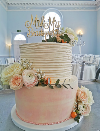 Pastle colours - Spring wedding cake