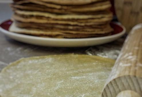 Marcinek cake layers