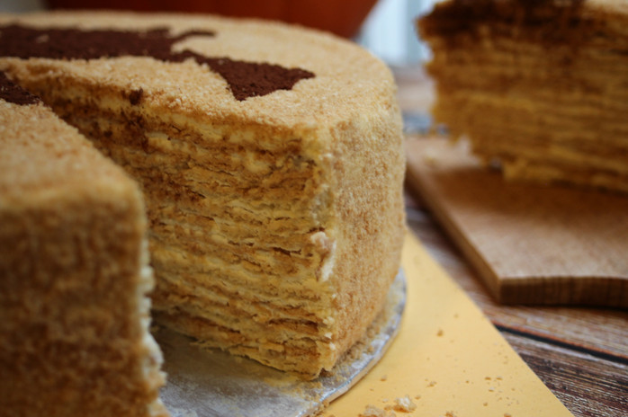 Marcinek cake creamy layers