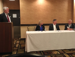 Lou Dunham Moderates RMA South Central PA Chapter's Bank Presidents Panel