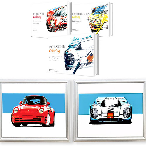 Super Fan Collection Includes 2 Limited Edition Prints