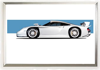 Porsche GT1 Wall Art