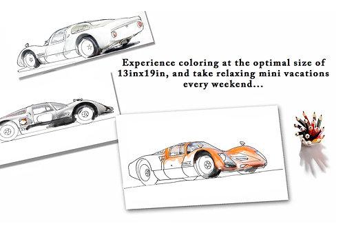 Porsche 906 Carrera 6 Trio
