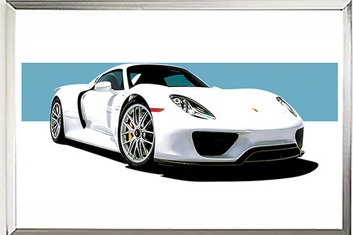 "Porsche 918 ""King of Nurberg"" Print"