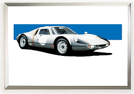 1964 Porsche 904 Carrera GTS Wall Art