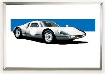 1964 Porsche 904 Carrera GTS Wall Artl Art.pn