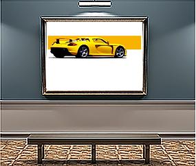 Porsche Carrera GT xlarge Wall art.png