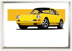 Porsche Classic 911 Yellow.png