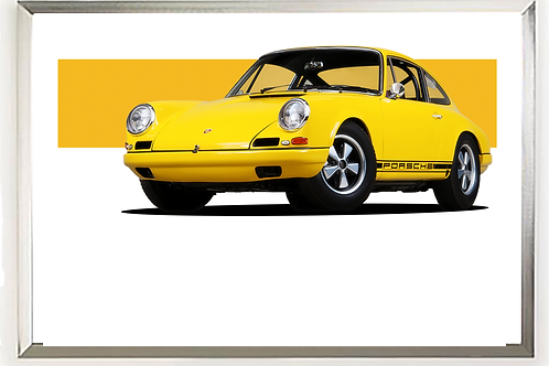1967 Porsche 911R Wall Art