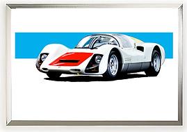 1966 Porsche 906 Carrera 6 Wall Art