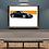 Thumbnail: 2008 Porsche 911 Turbo (997) Black Wall Art