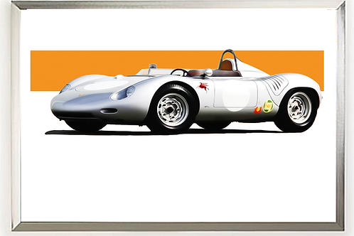 1957 Porsche 718 RSK Spyder Wall Art