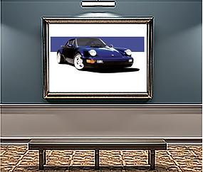 1994 Porsche Turbo 3.6 xLarge Wall Art.p
