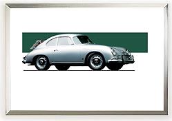 1959 Porsche 356A Carrera 1600 GS Wall Art