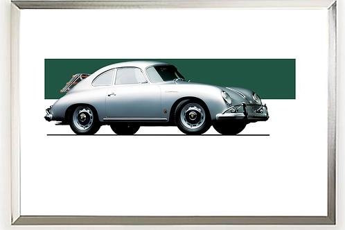 1959 Porsche 356 A Carrera 1600 GS Wall Art