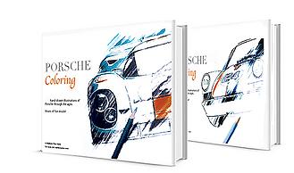 Porsche Coloring Book