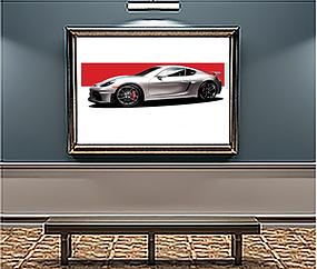 Porsche GT4 Wall Art.png
