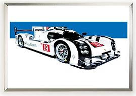 2015 Porsche 919 Evo Hybrid Wall Art