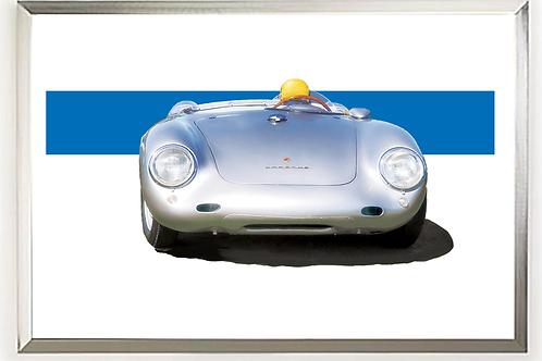 1956 Porsche 550 RS Spyder Art Print