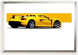 Porsche Carrera GT Wall Art