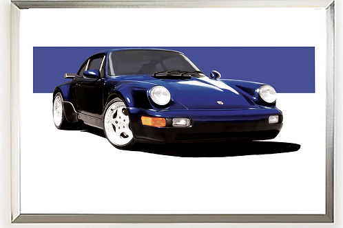 1994 Porsche Turbo 3.6 Wall Art