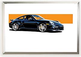 2008 Porsche 911 Turbo Wall Art