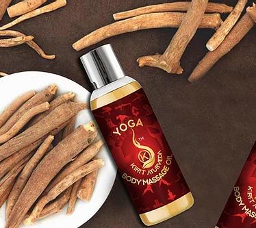 Yoga Body Massage Oil