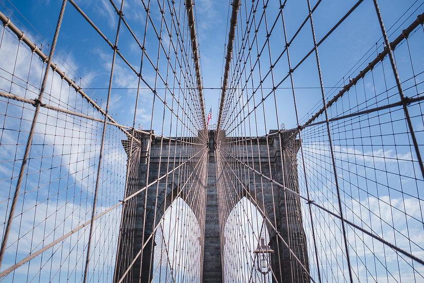 Brooklyn bridge maze