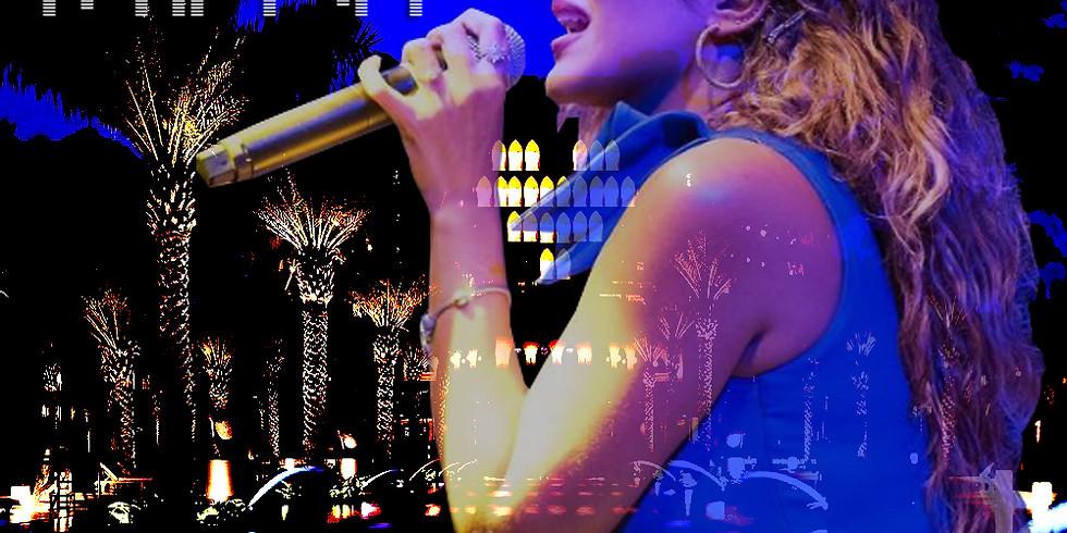 LIVE performance by Thanae @ Beach Pavilion, Al Bustan Palace, Ritz Carlton Hotel.