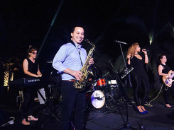 Pulse and Soul live band Oman Rene saxophone