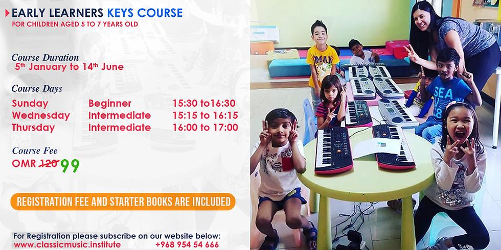 Early Learners Keys Course