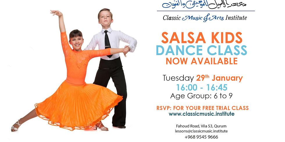 Salsa Kids Dance Class