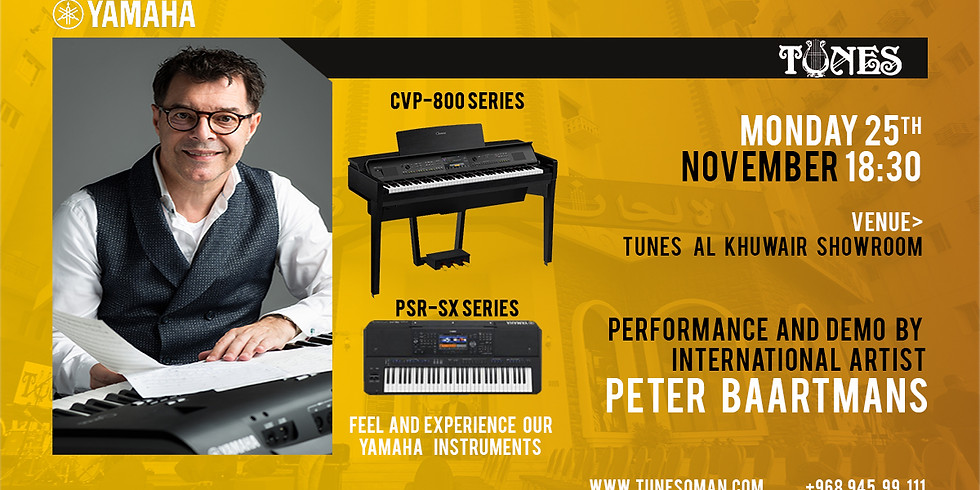 Performance and Demo by Peter Baartmans
