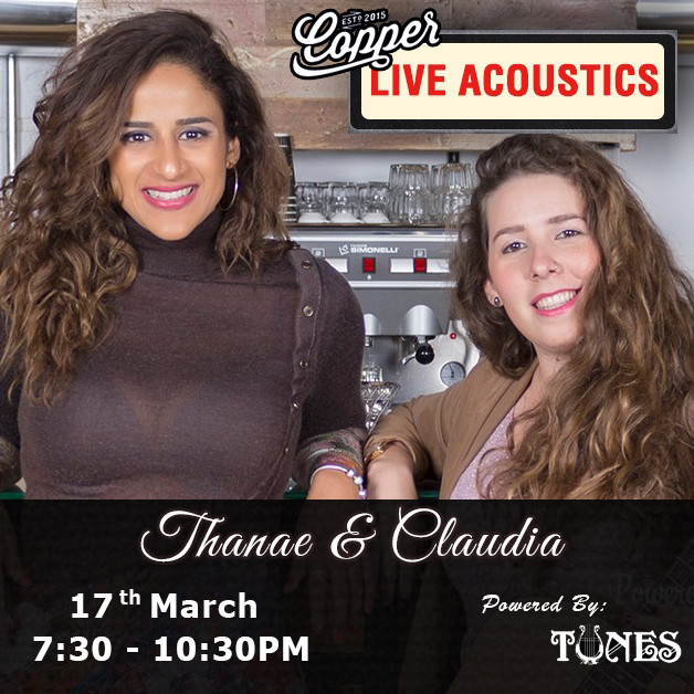 Live Acoustic with Thanae and Claudia (1)