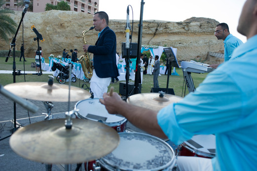 Wedding singer live band Oman musicians professional Cuba, Omani Greek singer Thanae Entertainment management services special events bands
