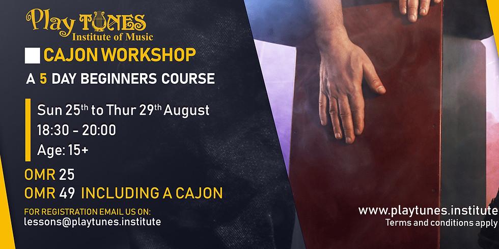 Cajon Workshop