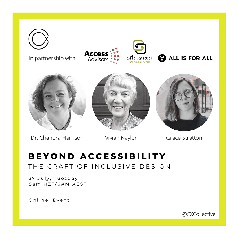 Beyond Accessibility