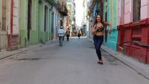 Dancing with Olympian Yeisser Ramirez
