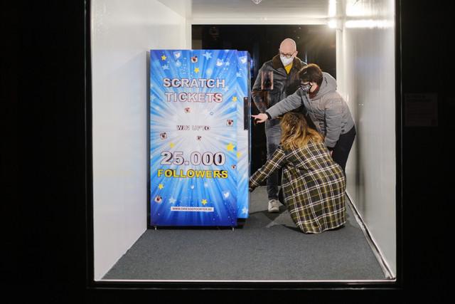Get Popular Vending Machine - Dries Depoorter