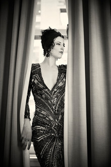 Brooklyn Britches *photo by Mélanie Bert *gown by Gibeon Tolbert