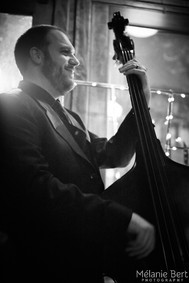 Just Martin killin it on the bass for SIP After Dark *photo by Mélanie Bert